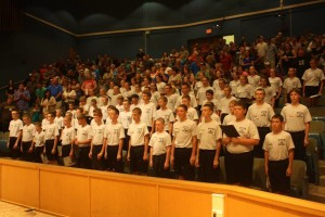 2015 Camp Cadet graduation at MU
