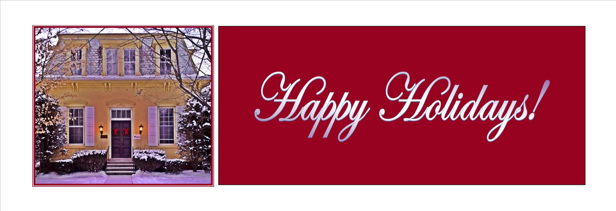 We wish you and yours a healthy holiday season!
